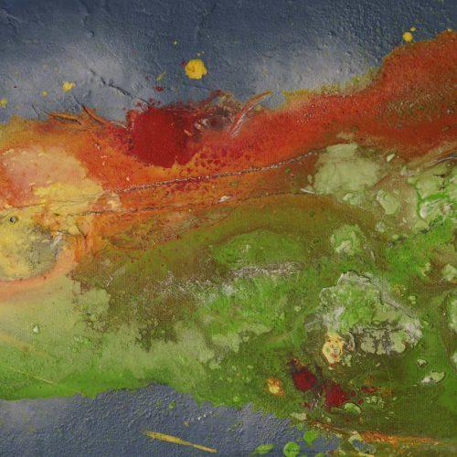 1_ Marmor, Cecilia Di Pauli, Acryl, 30x70
