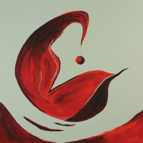 19_Hoffnung, Christine Bauernfeind, Acryl50x50