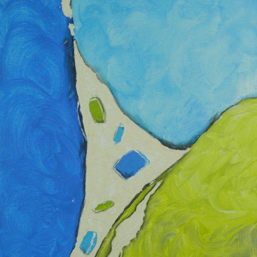21_Mein Erstes Bild, Christine Bauernfeind, Acryl, 60x40