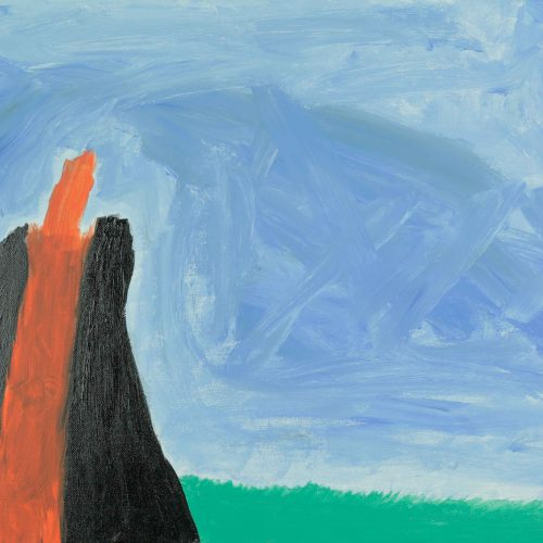 36_Vulkan, Ohne Name, Acryl, 40x60